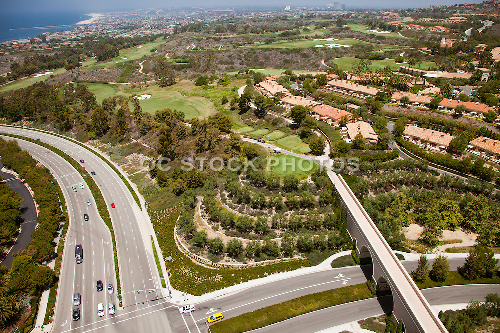 Aerial View of Newport Coast California