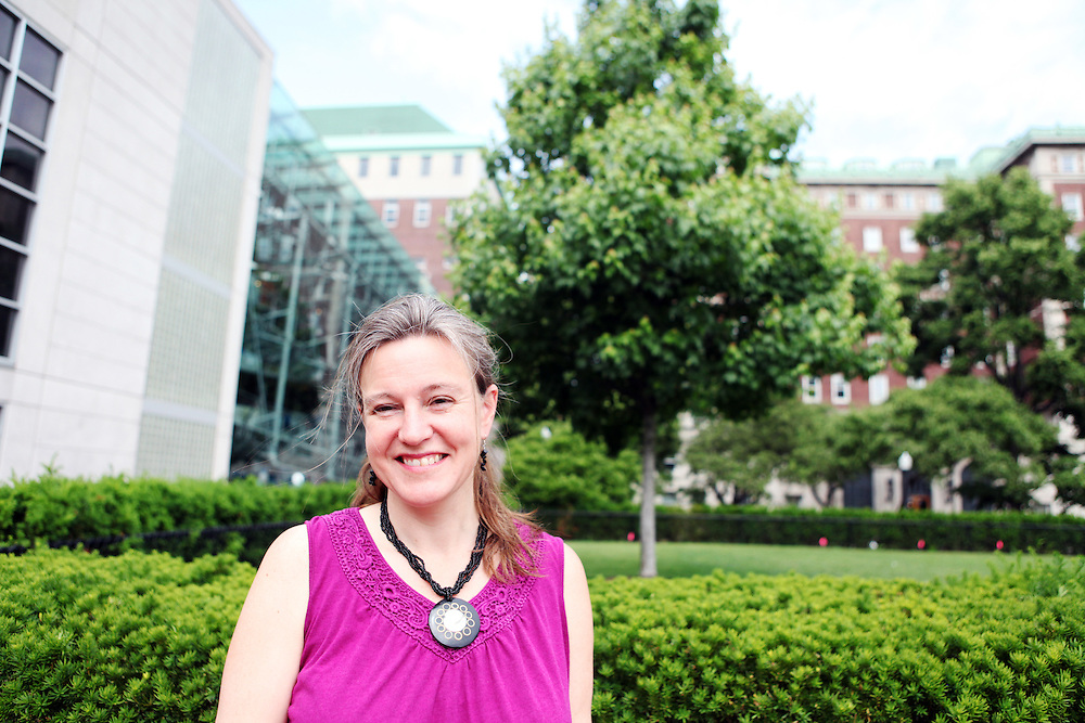 """Karen McCally '91..""""Careful how you talk to your professors over e-mail. Be polite. Don't call them """"yo"""" or """"dude"""".  We didn't have the opportunities to make those kinds of faux pas when we were in college, we had to show up in person."""""""