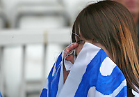 Photo: Andrew Unwin.<br />Hartlepool United v Port Vale. Coca Cola League 1. 06/05/2006.<br />A Hartlepool fan cries as her team are relegated.