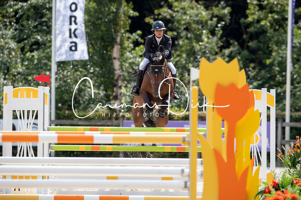 Laseur Megan, Just One<br /> KWPN Kampioenschappen - Ermelo 2019<br /> © Hippo Foto - Dirk Caremans<br /> Laseur Megan, Just One