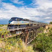 AMTRAK San Joaquin Train Line 2016