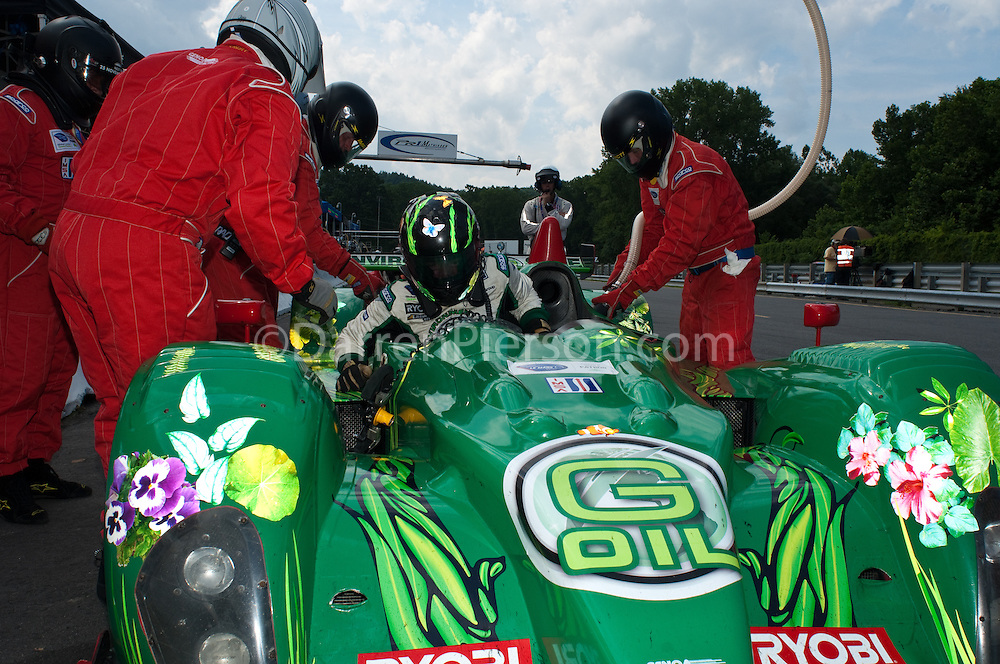 #36 Genoa Racing Oreca FLM09: Tom Sedivy, Christian Zugel