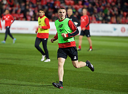 ADELAIDE, AUSTRALIA - Sunday, July 19, 2015: Liverpool's Jordan Rossiter during a training session at Coopers Stadium ahead of a preseason friendly match against Adelaide United on day seven of the club's preseason tour. (Pic by David Rawcliffe/Propaganda)