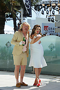 Keith Lemon & Kelly Brook attends a photocall during the 65th Annual Cannes Film Festival at the Martinez Hotel on May 19, 2012 in Cannes, France...Photo Ki Price.