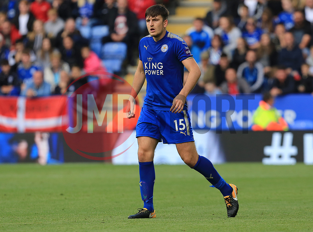 Harry Maguire of Leicester City - Mandatory by-line: Paul Roberts/JMP - 09/09/2017 - FOOTBALL - King Power Stadium - Leicester, England - Leicester City v Chelsea - Premier League