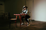 US Musician, Raury, photographed whilst on tour in the UK.