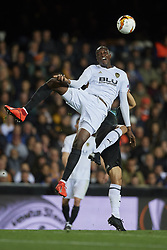 March 7, 2019 - Valencia, Valencia, Spain - Mouctar Diakhaby of Valencia in action during the UEFA Europa League Round of 16 First Leg match between Valencia v Krasnodar  at Estadi de Mestalla on March 7, 2019 in Valencia, Spain. (Credit Image: © Jose Breton/NurPhoto via ZUMA Press)