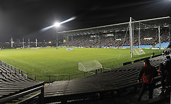 An attendance of 10,500 approx at McHale Park on saturday as Mayo took on the Dubs. Pic Conor McKeown