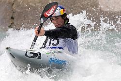Vavrinec Hradilek of Czech Republic competes in the Men's Kayak K1 at Kayak & Canoe ICF slalom race Tacen 2010 on May 16, 2010 in Tacen, Ljubljana, Slovenia. (Photo by Vid Ponikvar / Sportida)
