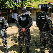 The National Force Anti-Extortion Unit attemped to arrest a man, Nelson Ariel Obando Cerrato, age 20 for alleged extortion. The victim exchanged gunfire and was killed by the police around 8:30am on February 10, 2017 in Santa Marta, just outside of San Pedro Sula.