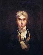 Joseph Mallord William  Turner (1775-1851) English artist.  'Self portrait, age 24'   Oil painting
