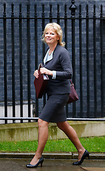 © Licensed to London News Pictures. 10/05/2016. London, UK. Minister of State for Small Business, Industry and Enterprise ANNA SOUBRY arrives at Number 10 Downing Street in Westminster, London for cabinet meeting. Photo credit: Tolga Akmen/LNP
