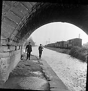 The Royal Canal, Dublin..11.02.1961