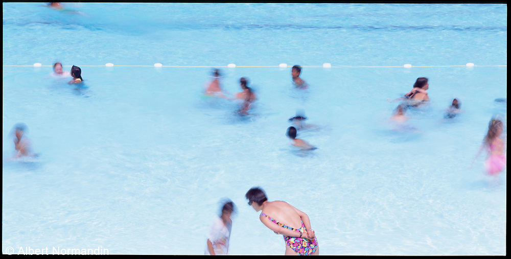 Kitsilano Swimming  Pool, Vancouver, British Columbia, Canada