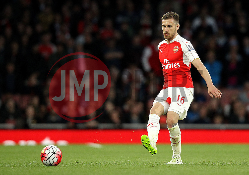 Aaron Ramsey of Arsenal - Mandatory by-line: Robbie Stephenson/JMP - 21/04/2016 - FOOTBALL - Emirates Stadium - London, England - Arsenal v West Bromwich Albion - Barclays Premier League