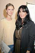 Nicky Hilton wearing Chloe and with Chloe purse, and Chloe store manager Sherrie Hendizadeh