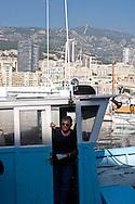 the Rinaldi family , the last professionnal fishermen   Monaco  Monaco   /// les Rinaldi derniers pêcheurs professionnels  Monaco  Monaco  /// L0055510