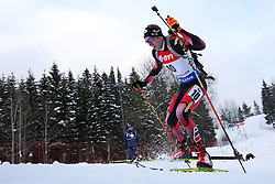 10.03.2016, Holmenkollen, Oslo, NOR, IBU Weltmeisterschaft Biathlion, Oslo, 20km, Herren, im Bild Dominik Landertinger (AUT) // during Mens 20km individual Race of the IBU World Championships, Oslo 2016 at the Holmenkollen in Oslo, Norway on 2016/03/10. EXPA Pictures © 2016, PhotoCredit: EXPA/ Newspix/ Tomasz Jastrzebowski<br /> <br /> *****ATTENTION - for AUT, SLO, CRO, SRB, BIH, MAZ, TUR, SUI, SWE only*****