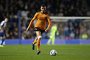 Wolverhampton Wanderers midfielder Romain Saiss (27)  during the EFL Sky Bet Championship match between Brighton and Hove Albion and Wolverhampton Wanderers at the American Express Community Stadium, Brighton and Hove, England on 18 October 2016.