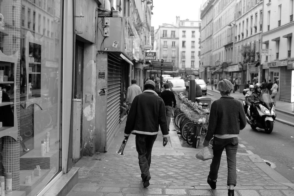 Rue du Chateau d'Eau trumpet, Paris