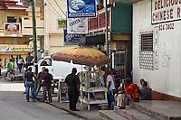 Life on the streets of San Ignacio, Belize.