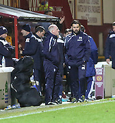 Dundee manager Paul Hartley - Motherwell v Dundee - Ladbrokes Premiership at Fir Park<br /> <br /> <br />  - &copy; David Young - www.davidyoungphoto.co.uk - email: davidyoungphoto@gmail.com