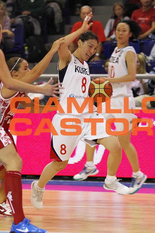 DESCRIZIONE : Brno Repubblica Ceca Czech Republic Women World Championship 2010 Campionato Mondiale Eight-Final Round Korea Russia<br /> GIOCATORE : Yung Hui LIM<br /> SQUADRA : Korea Corea del sud<br /> EVENTO : Brno Repubblica Ceca Czech Republic Women World Championship 2010 Campionato Mondiale 2010<br /> GARA :  Korea Russia Corea Russia<br /> DATA : 28/09/2010<br /> CATEGORIA :<br /> SPORT : Pallacanestro <br /> AUTORE : Agenzia Ciamillo-Castoria/ElioCastoria<br /> Galleria : Czech Republic Women World Championship 2010<br /> Fotonotizia : Brno Repubblica Ceca Czech Republic Women World Championship 2010 Campionato Mondiale Eight-Final Round  Belarus USA<br /> Predefinita :