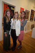 KATIE READMAN; DAVINA HARBORD; ALEXANDRA CASTANO, 20/21 British Art Fair. Celebrating its 25 Anniversary. The Royal College of Art . Kensington Gore. London. 12 September 2012.