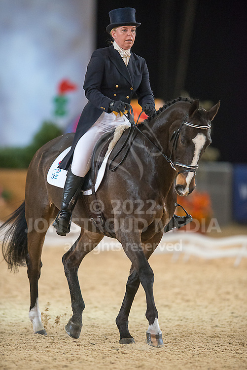 Julia Dungworth (GBR) & Sonic Boom - Dressage - Express Eventing - Horse World Live - ExCel London - 17 November 2012