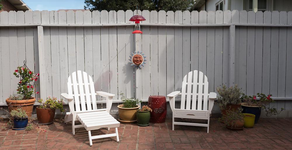 Adirondack Chairs; Backyard Scene. (33996 x 17491 pixels)