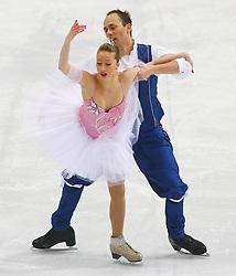 24.01.2011, Postfinance Arena, Bern, Eiskunstlauf EM 2011, im Bild Paar  Eistanz Qualifikation Nelli Zhiganshina / Alexander Gazsi (GER) // during the European Figure Skating Championships 2011, in Bern, Switzerland, EXPA Pictures © 2011, PhotoCredit: EXPA/ EXPA/ Newspix/ Manuel Geisser +++++ ATTENTION - FOR AUSTRIA/ AUT, SLOVENIA/ SLO, SERBIA/ SRB an CROATIA/ CRO, SWISS/ SUI and SWEDEN/ SWE CLIENT ONLY +++++