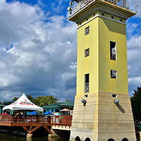 Observation Tower at La Guancha in Ponce, Puerto Rico<br />