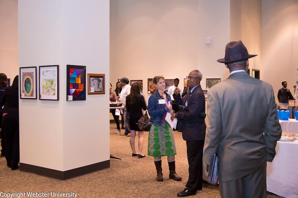 Webster University - Congressman Clay Art Exhibition at Arcade Building