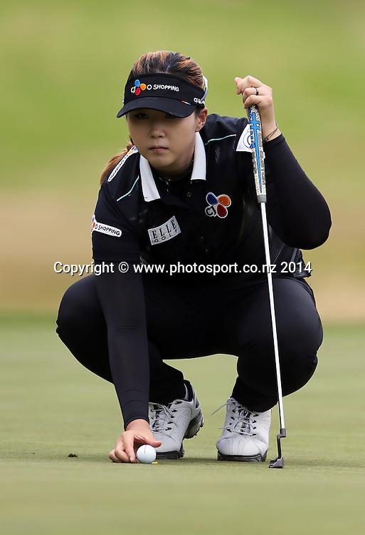 NZ women's golf open at Clearwater resort.<br /> Day 2.<br /> Kyu Jung Baek (Korea)
