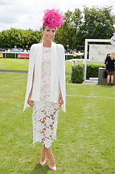 VOGUE WILLIAMS at the Qatar Goodwood Festival - Ladies Day held at Goodwood Racecourse, West Sussex on 30th July 2015.