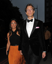 Pippa Middleton and boyfriend Nico Jackson attend the Boodles Boxing Ball at the Grosvenor House Hotel in London, UK. 21/09/2013<br />BYLINE MUST READ : GOTCHAIMAGES.COM<br /><br />Copyright by © Gotcha Images Ltd. All rights reserved.<br />Usage of this image is conditional upon the acceptance <br />of Gotcha Images Ltd, terms and conditions available at<br />www.gotchaimages.com