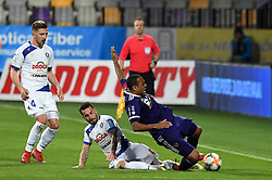 Marcos Magno Morales Tavares of Maribor and Mitja Lotrič of Celje in action during football match between NK Maribor and NK Celje in Round #24 of Prva liga Telekom Slovenije 2018/19, on March 30, 2019 in stadium Ljudski vrt, Maribor, Slovenia. Photo by Milos Vujinovic / Sportida