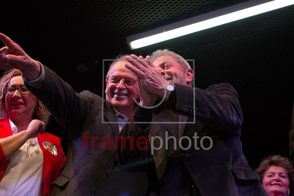 Caxias do Sul - 18/09/2014 Ex-presidente Lula participa de comício em Caxias do Sul. Crédito Luca Erbes/Raw-Image/Frame