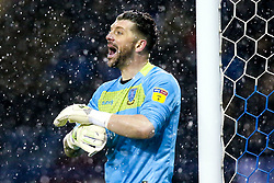 Keiren Westwood of Sheffield Wednesday in the rain - Mandatory by-line: Robbie Stephenson/JMP - 04/03/2019 - FOOTBALL - Hillsborough - Sheffield, England - Sheffield Wednesday v Sheffield United - Sky Bet Championship