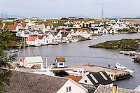 Rogaland, Norway. Kvitsøy island. Ydstebøhavn.