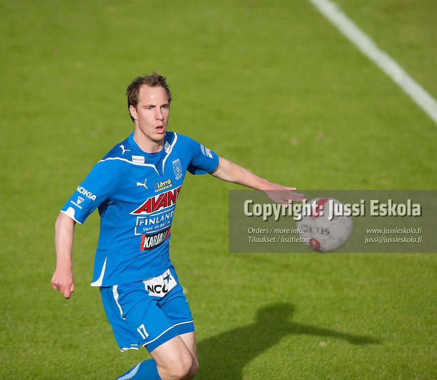 Vili Savolainen. Honka - Tampere United. TamU. Veikkausliiga. Espoo 20.6.2010. Photo: Jussi Eskola