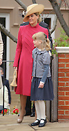 "SOPHIE, COUNTESS OF WESSEX AND DAUGHTER LOUISE WINDSOR.attend Easter Service at St George's Chapel, Windsor_April8, 2012.Mandatory credit photo: ©NEWSPIX INTERNATIONAL..(Failure to credit will incur a surcharge of 100% of reproduction fees)..                **ALL FEES PAYABLE TO: ""NEWSPIX INTERNATIONAL""**..IMMEDIATE CONFIRMATION OF USAGE REQUIRED:.Newspix International, 31 Chinnery Hill, Bishop's Stortford, ENGLAND CM23 3PS.Tel:+441279 324672  ; Fax: +441279656877.Mobile:  07775681153.e-mail: info@newspixinternational.co.uk"