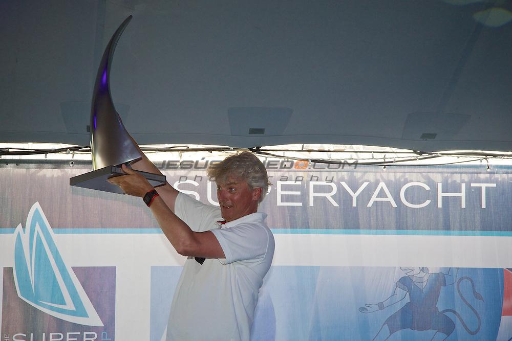 SuperYachtCup . Prize Giving ceremony © Jesús Renedo
