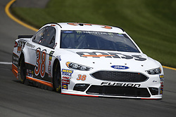 June 1, 2018 - Long Pond, Pennsylvania, United States of America - David Ragan (38) brings his car through the turns during practice for the Pocono 400 at Pocono Raceway in Long Pond, Pennsylvania. (Credit Image: © Chris Owens Asp Inc/ASP via ZUMA Wire)