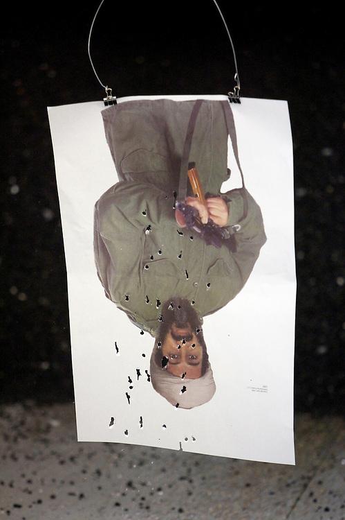 UNITED STATES-LAS VEGAS- Tourists can shoot guns at the Las Vegas Gun Store. PHOTO: GERRIT DE HEUS
