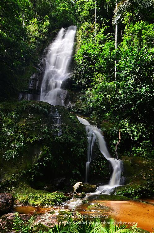 Waterfall in Amboro National Park, Santa Cruz, Bolivia