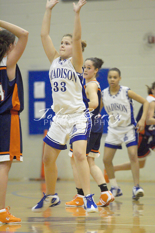 JV Girls Basketball..vs Clarke..January 13, 2005