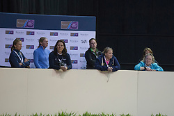 Werner Nicole, (NED) <br /> Training session<br /> Reem Acra FEI World Cup™ Dressage Finals <br /> Las Vegas 2015<br />  © Hippo Foto - Dirk Caremans<br /> 15/04/15