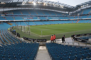 The Stadium befored the Premier League match between Manchester City and Newcastle United at the Etihad Stadium, Manchester, England on 20 January 2018. Photo by George Franks.