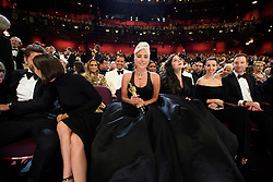After winning the Oscar® for music written for motion pictures (original song), Lady Gaga during the live ABC Telecast of The 91st Oscars® at the Dolby® Theatre in Hollywood, CA on Sunday, February 24, 2019.